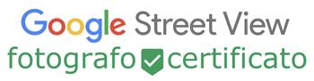 Google Street View fotografo Reggio Emilia certificato